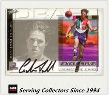2002 Select AFL Series Tribute Card TC4 Stephen Silvagni (Carlton)