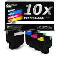 10x PRO Toner XXL für Lexmark CS-510-de CS-310-dn CS-410-n