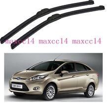 "Car Windscreen Window windshield Wiper Blades For Ford Fiesta 2009-2012 26""+15"""