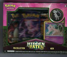 Pokemon Hidden Fates Pin Collection Box Mew - Brand New