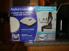 SALE Perfect Cushion (comfort gel and memory foam seat cushion) Promotes Posture