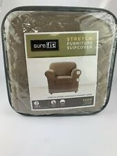 SureFit Stretch Furniture Slipcover 2 Piece Base Cover +seat Cover- 32In To 43In