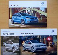 1994) VW Polo Prospekt 2016 + Sondermodell beats mit Preisliste 2017 brochure