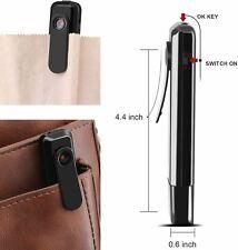 ehomful Body Camera Mini Hidden Spy Pen Camera Portable Cop Pocket cam