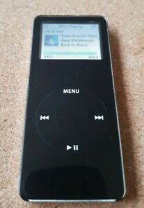 Apple iPod Nano 1st Generation Black (2GB), Model A1137