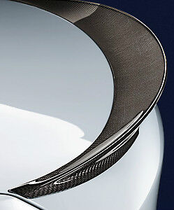 BMW F10 2011-2017 5 Series Sedan OEM M Performance Rear Spoiler Carbon Fiber New