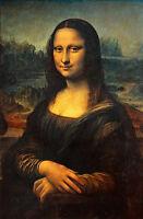 Dream-art Oil painting Leonardo da Vinci - young woman smiling Mona Lisa CANVAS