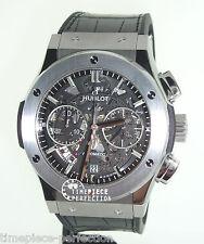 Hublot Classic Fusion 45mm Chronograph Titanium Skeleton Mens Watch 525.nx