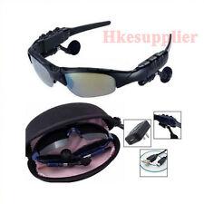Bluetooth Headset Headphone Sunglasses Wireless Sport Earphone for iphone HTC LG