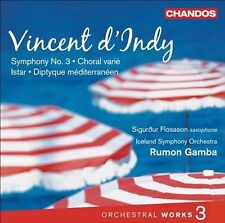 d'Indy: Orchestral Works, Vol. 3, New Music