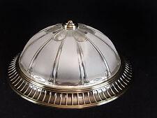 Deckenlampe Plafoniere Kronleuchter im Jugendstil  Glas LED Ceiling Light