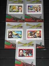 Comores 1978 Block 150-55 History of Aviation Planes NH