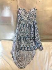 BEAUTIFUL TALULAH FLORAL PRINT STRAPLESS DRESS BNWT  SZ  S RRP $220