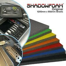 More details for shadow foam sheet | grey tool / flight case protection | equipment packaging