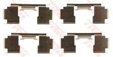 pfk397 TRW Kit accessori, PASTIGLIE FRENO asse anteriore