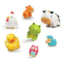 Munchkin 8 Squirtin Farm Buddies Baby Bath Toys - 8 pack