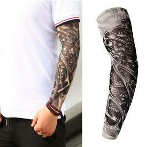 Temporäres 3D Design Tattoo Armstulpen Arm Einmal-Tattoo Körperkunst Ärmel U10