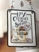 Mary Engelbreit Believe Christmas Craft Book Teacup Mouse Cross Stitch OOP Rare