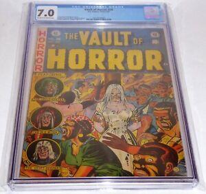 Vault Of Horror #28 CGC Universal Grade Comic #28 Bondage Zombie Witch Pre-Code