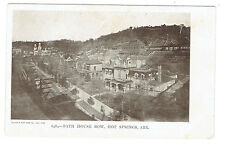 Hot Springs Arkansas Bath House Row early view