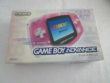 A456 Nintendo Gameboy Advance console Milky Pink Japan GBA w/box bx