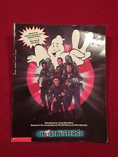 Ghostbusters Ii Storybook Movie Large Softback Book 1989 1st Ed