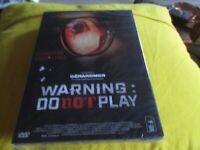 """DVD NEUF """"WARNING : DO NOT PLAY"""" film d'horreur Coreen de Kim JIN-WON"""