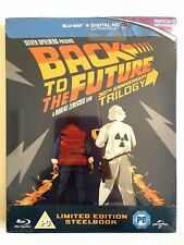 NEW Back To The Future Trilogy Bluray OOP Steelbook Limited Edition Spielberg