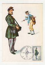 journée du timbre 1967 timbre France 1er jour FDC carte maximum /T2610
