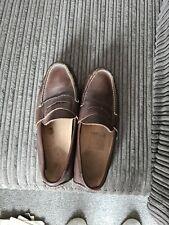 Ralph Lauren Slip On Shoes Moccasin Loafer Brown Size 6