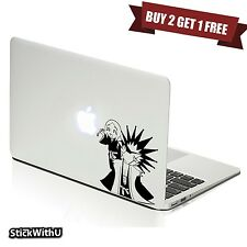 Macbook Air Pro Vinyl Skin Sticker Decal Bleach Anime Kenpachi Chibi Funny m999