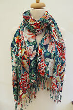 Laura Ashley Floral Print Long Scarf - STUNNING