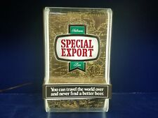 1984 Heileman's Special Export Lighted Beer Sign W/ Map Background Estate Sale-e