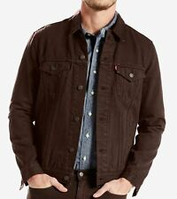 Levi's Men's Denim Trucker Jacket - Black Coffee