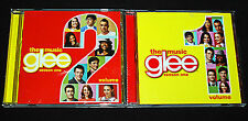GLEE: THE MUSIC, VOLUME ONE & TWO - SEASON 1 AND 2 (TWO DISCS) VERY GOOD CND