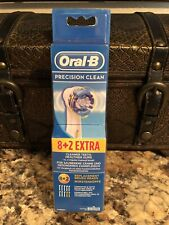 Braun Oral-B Precision Clean Electric Toothbrush Brush Heads 10 Pack New