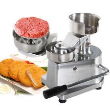 Stainless steel Manual hamburger machine aluminum burger presses dia 10cm party