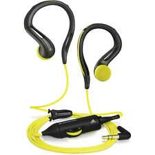 Sennheiser OMX 680 Ear Hook Headphones Black/Yellow USA SELLER