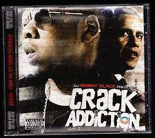 JAY Z, BOBBY BLACK - CRACK ADDICTION NY - CD ALBUM - 23 TRACKS - NEW & SEALED