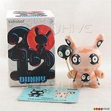 Kidrobot Dunny 2012 series vinyl figure Mr. Wiggles pink Tara McPherson with box