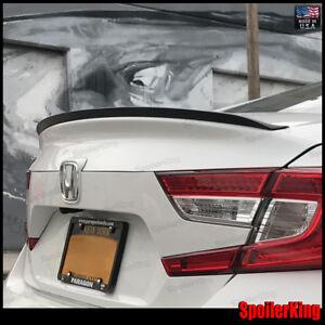 Rear Trunk Lip Spoiler Wing (Fits: Honda Accord 2018-on 4dr) 244L SpoilerKing