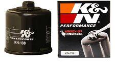K&N Ölfilter /Oil Filter KN-138 Suzuki SV 650 N/S    1999-2015