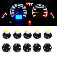 10Pcs T4.2 T4 Led Neo Wedge Instrument Cluster Light Car Panel Gauge Dash Bulbs