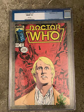 DOCTOR WHO #17 cgc 9.8 - Featuring The 5th Doctor - Marvel Comics 1986