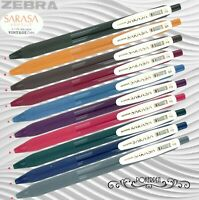 Zebra SARASA Clip 0.5mm Milk Red Gel Pen 10 pcs B-JJ15-MKR Register Ship