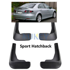 MUD FLAPS FOR MAZDA 6 (GG) M6 SPORT HATCH 2003-2007 SPLASH GUARD 2005 2006 2004