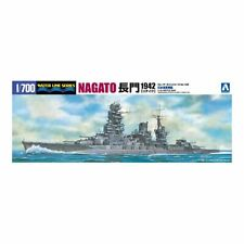Aoshima 1/700 IJN Battleship Nagato 1942 Updated Edition 04510