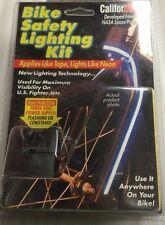 CALIFORNEON BIKE SAFETY LIGHTING KIT BICYCLE Electroluminescent Light (U15*)