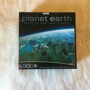 BBC Planet Earth HA LONG BAY VIETNAM Jigsaw Puzzle 500 Pieces Mountain Lake