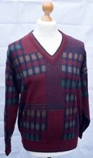 """Vintage Pierre Sangan PURE LAINE VIERGE Pull XL 44-46"""" Sweater Knit Made in Jersey"""